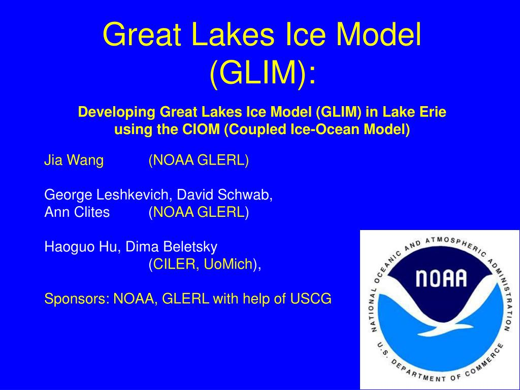 Great Lakes Ice Model (GLIM):