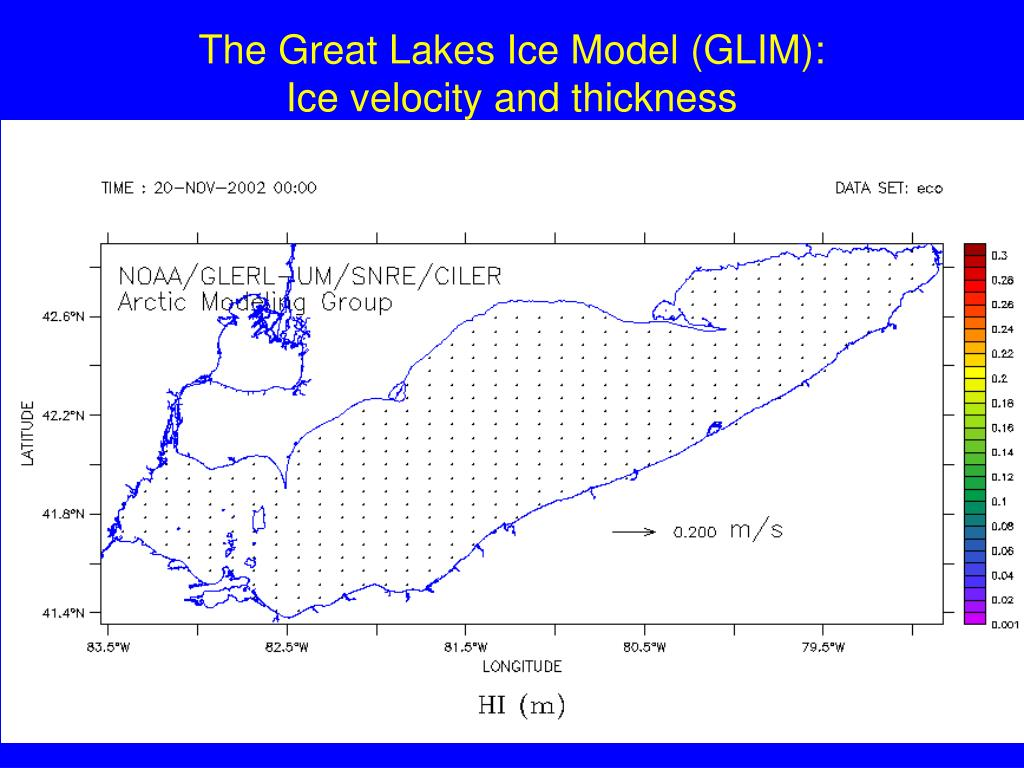The Great Lakes Ice Model (GLIM):