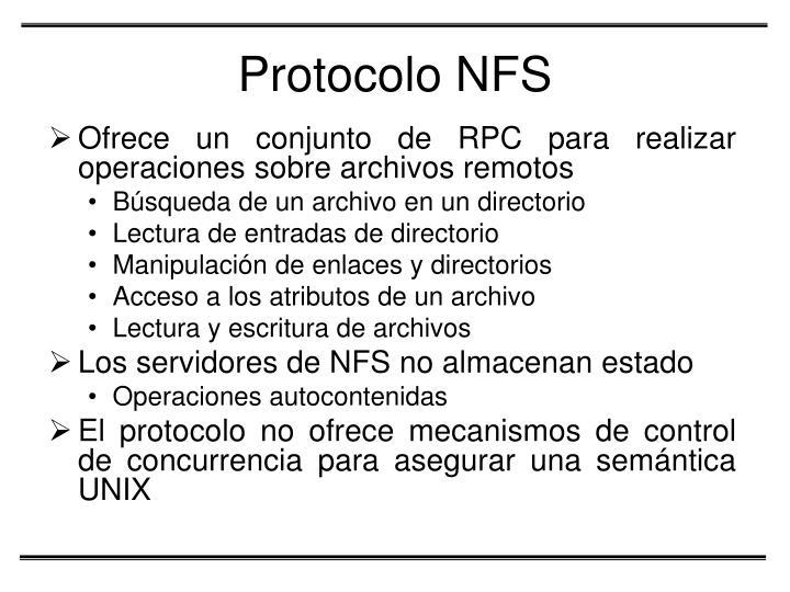 Protocolo NFS