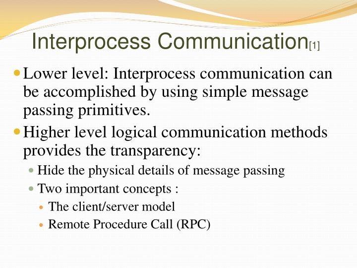 Interprocess