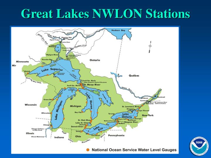 Great Lakes NWLON Stations