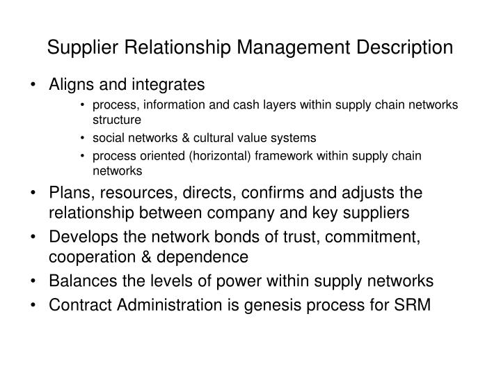 toyota and gm supplier relationship manangement kristeens Traditional and the relational models of the buyer-supplier relationship and a stream of literature deals with such relationships in the us and japan, individually and comparatively (hill, 1995) gm tried to save cost by encouraging intense supplier competition in early 90's.
