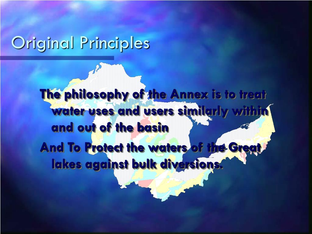 Original Principles