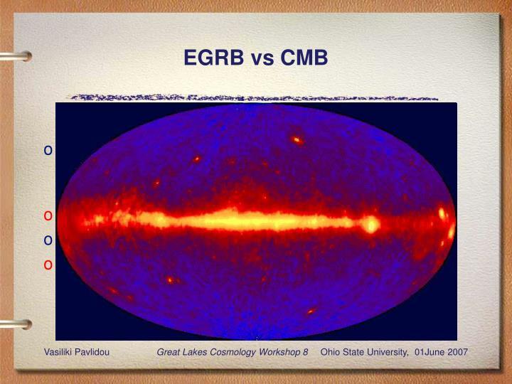 Egrb vs cmb