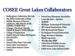 cosee great lakes collaborators