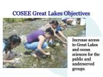 cosee great lakes objectives16