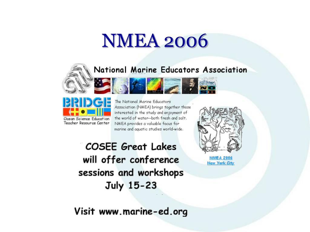 PPT - COSEE Great Lakes: Creating Freshwater Connections to