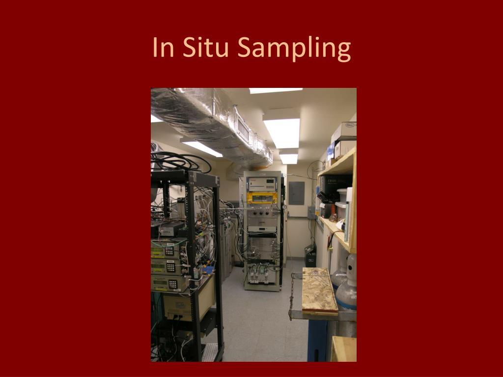 In Situ Sampling