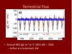 terrestrial flux