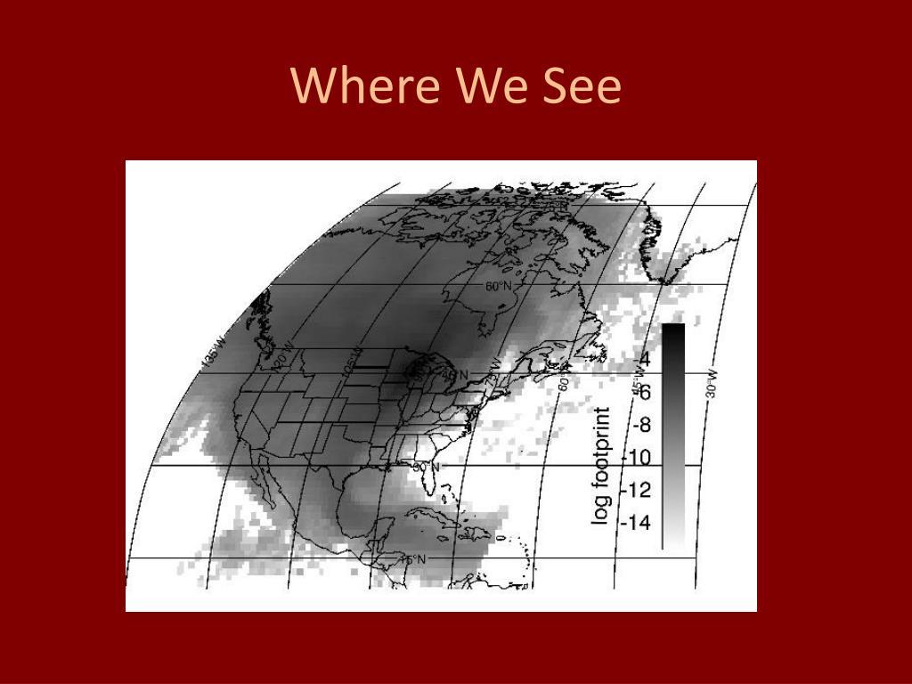 Where We See
