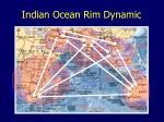 indian ocean rim dynamic