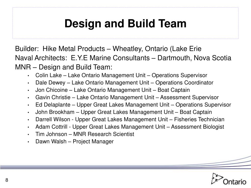 Design and Build Team