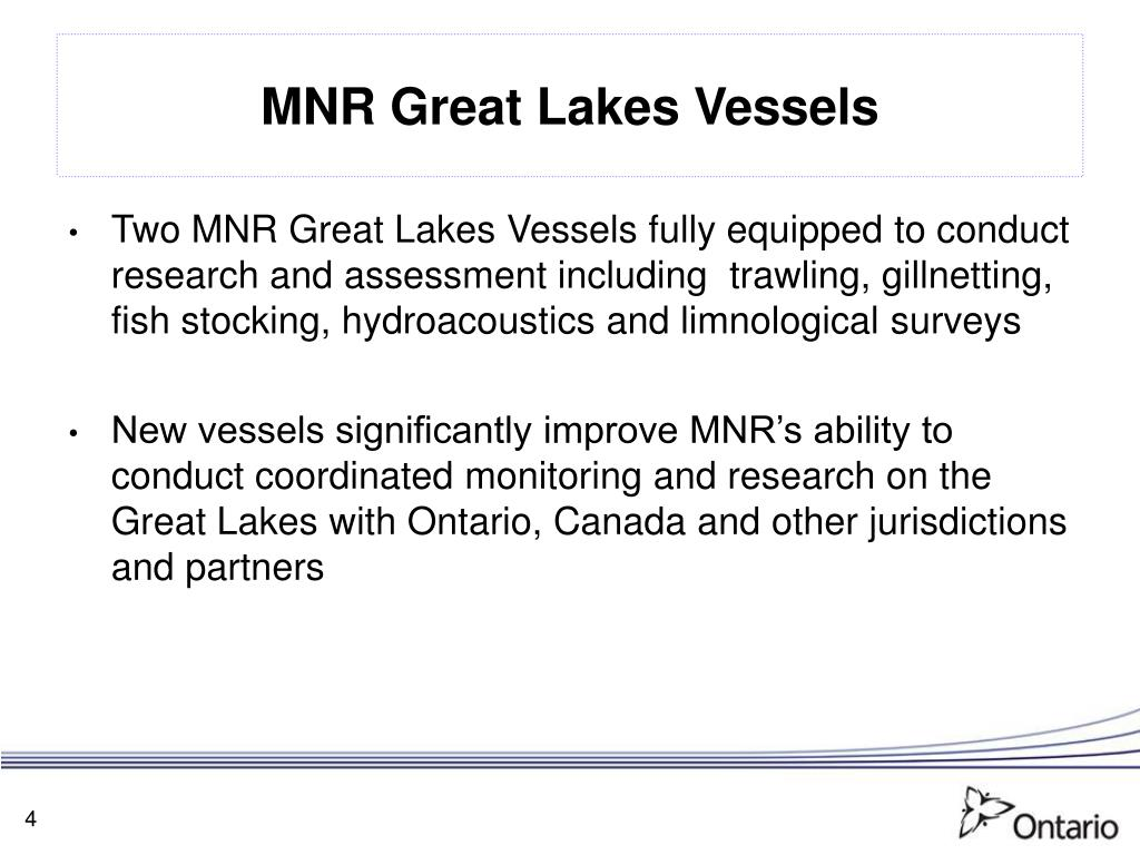 MNR Great Lakes Vessels