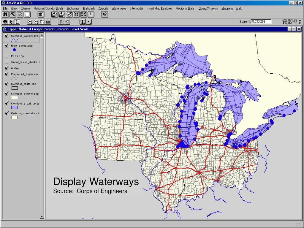Display Waterways