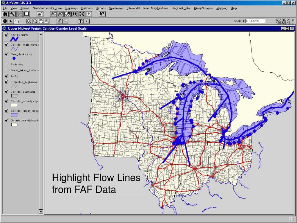 Highlight Flow Lines