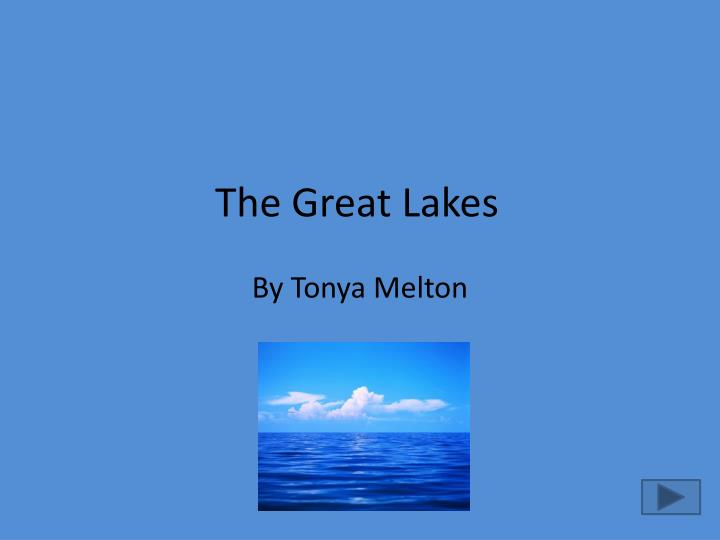 the great lakes n.