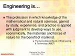engineering is