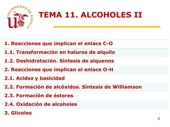 Tema 11 alcoholes ii