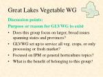 great lakes vegetable wg10