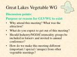 great lakes vegetable wg9