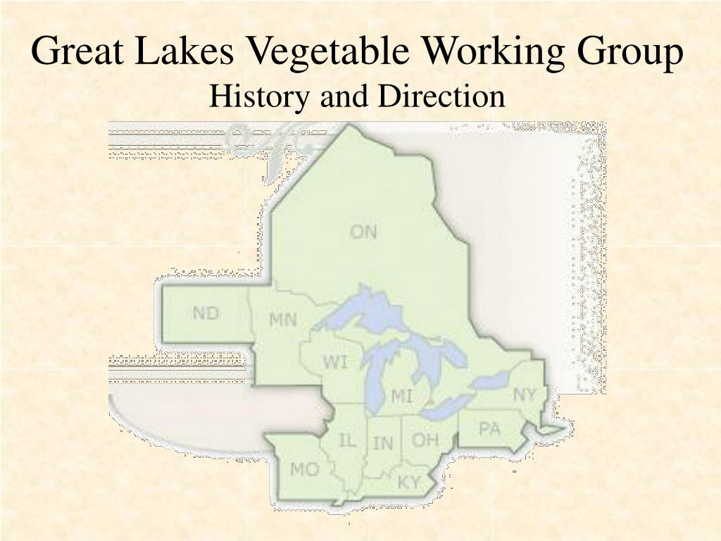 great lakes vegetable working group history and direction l.