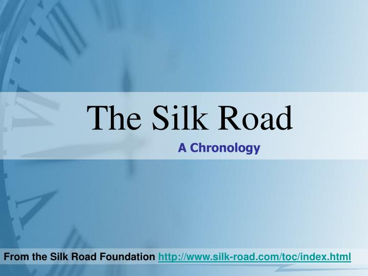 the silk road n.