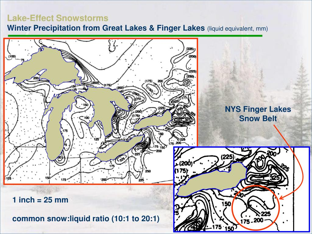 Lake-Effect Snowstorms