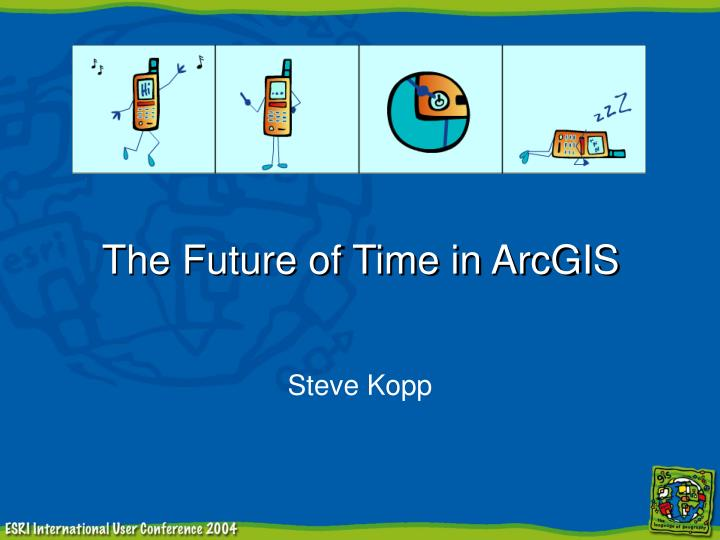 the future of time in arcgis n.
