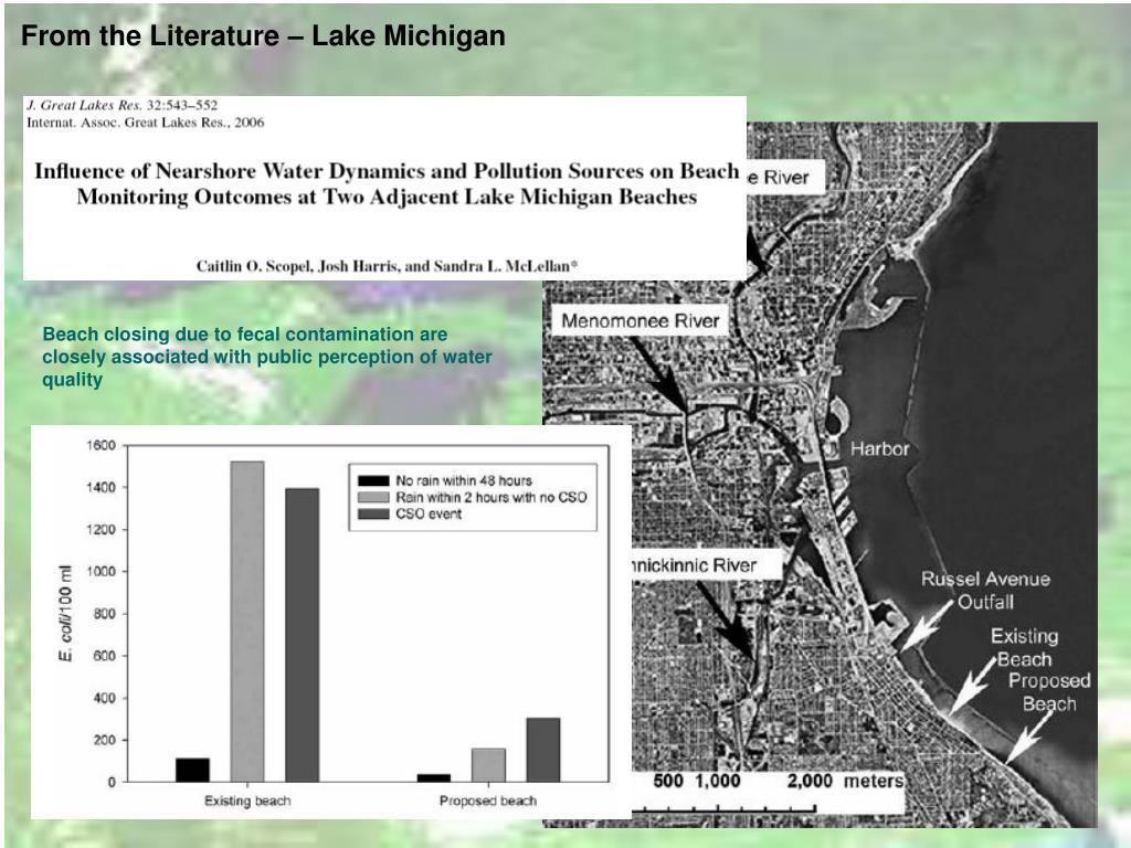From the Literature – Lake Michigan