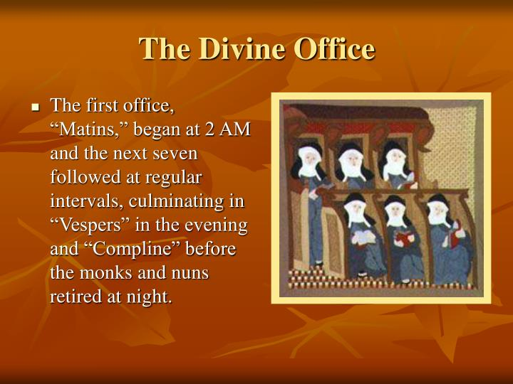 the divine office n.