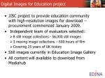 digital images for education project