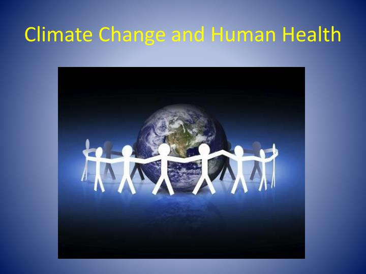 climate change and human health n.