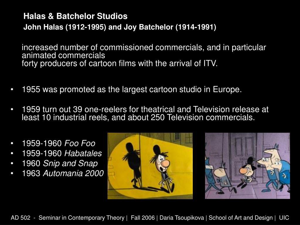Halas & Batchelor Studios