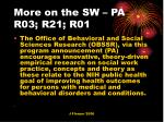 more on the sw pa r03 r21 r01