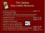 the catalog very useful resource