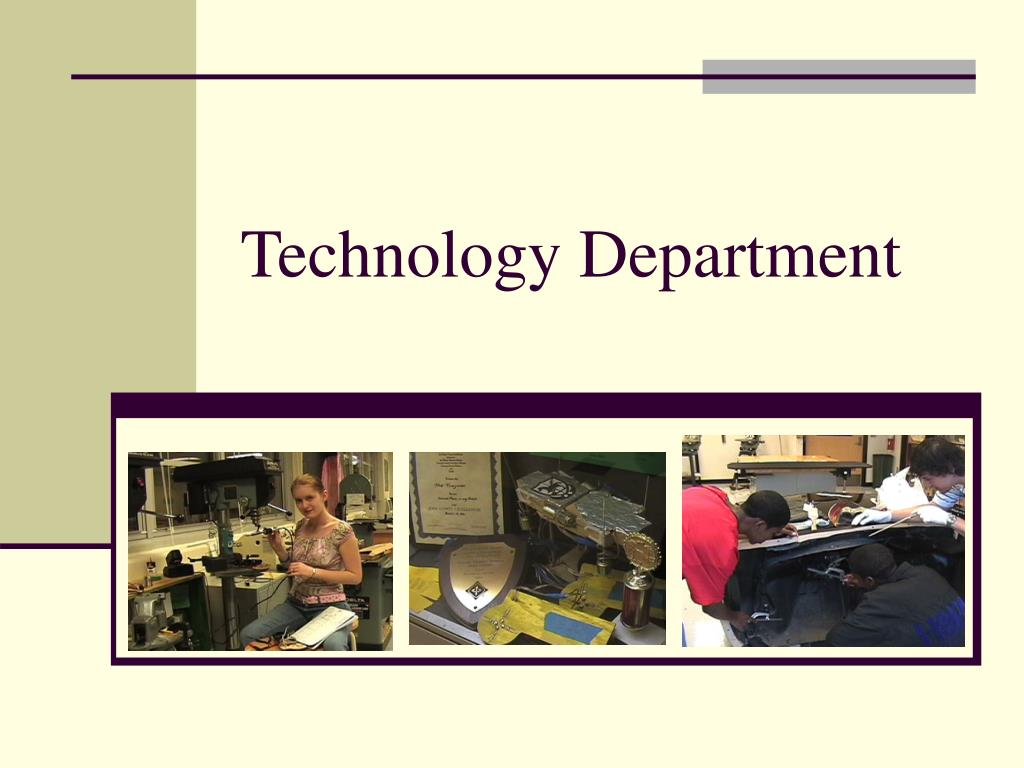 technology department l.