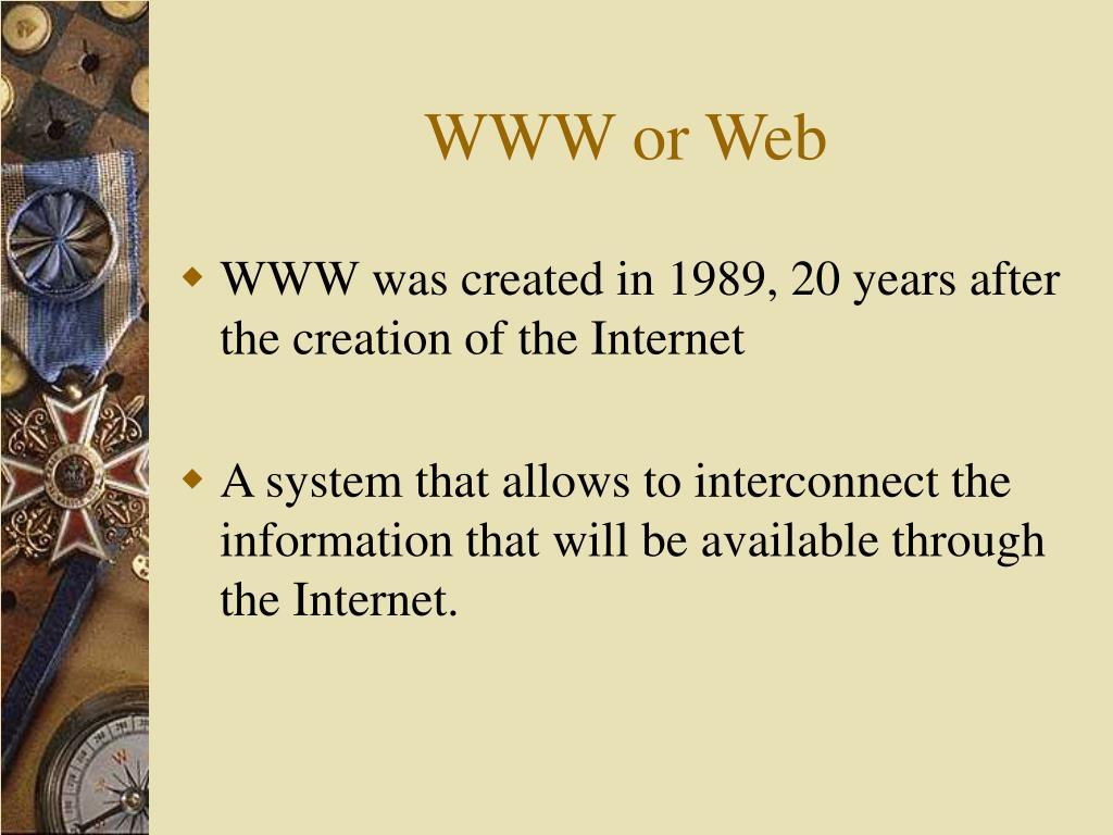 WWW or Web