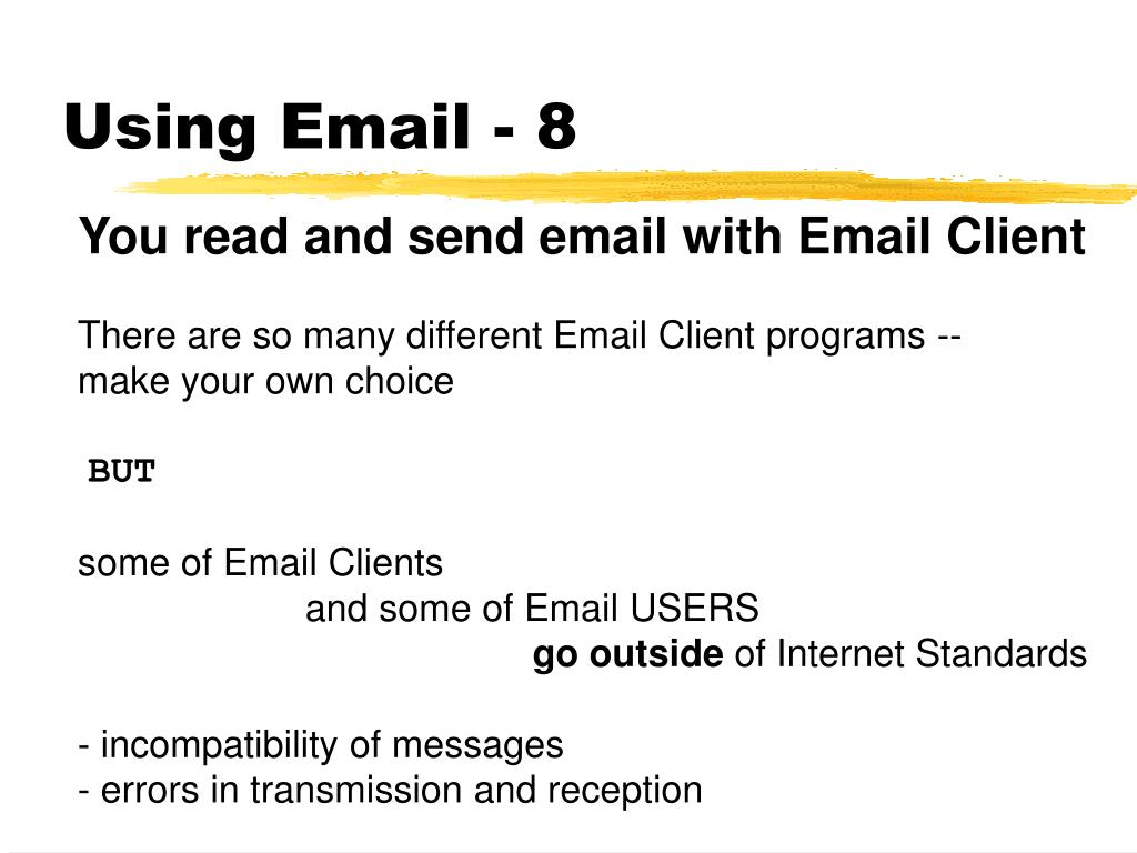 Using Email - 8