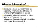 whence informatics17