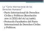 la carta internacional de los derechos humanos2