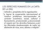 los derechos humanos en la carta de la onu1