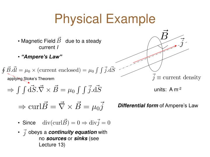 Physical Example
