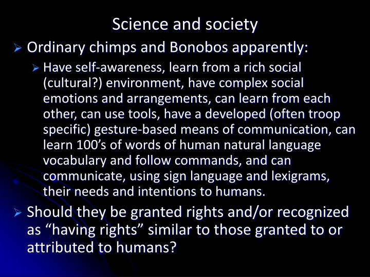 Science and society2