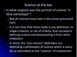 science at the bar10
