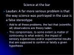 science at the bar9