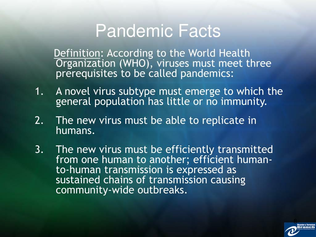 Pandemic Facts