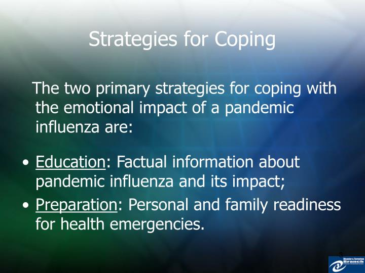 Strategies for coping