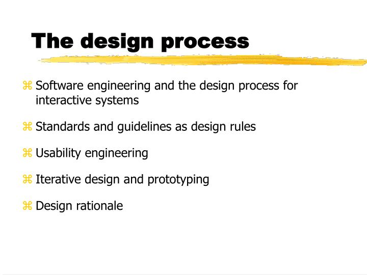 Ppt The Design Process Powerpoint Presentation Free Download Id 842805