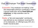 chpt 58 employer fair share assessment
