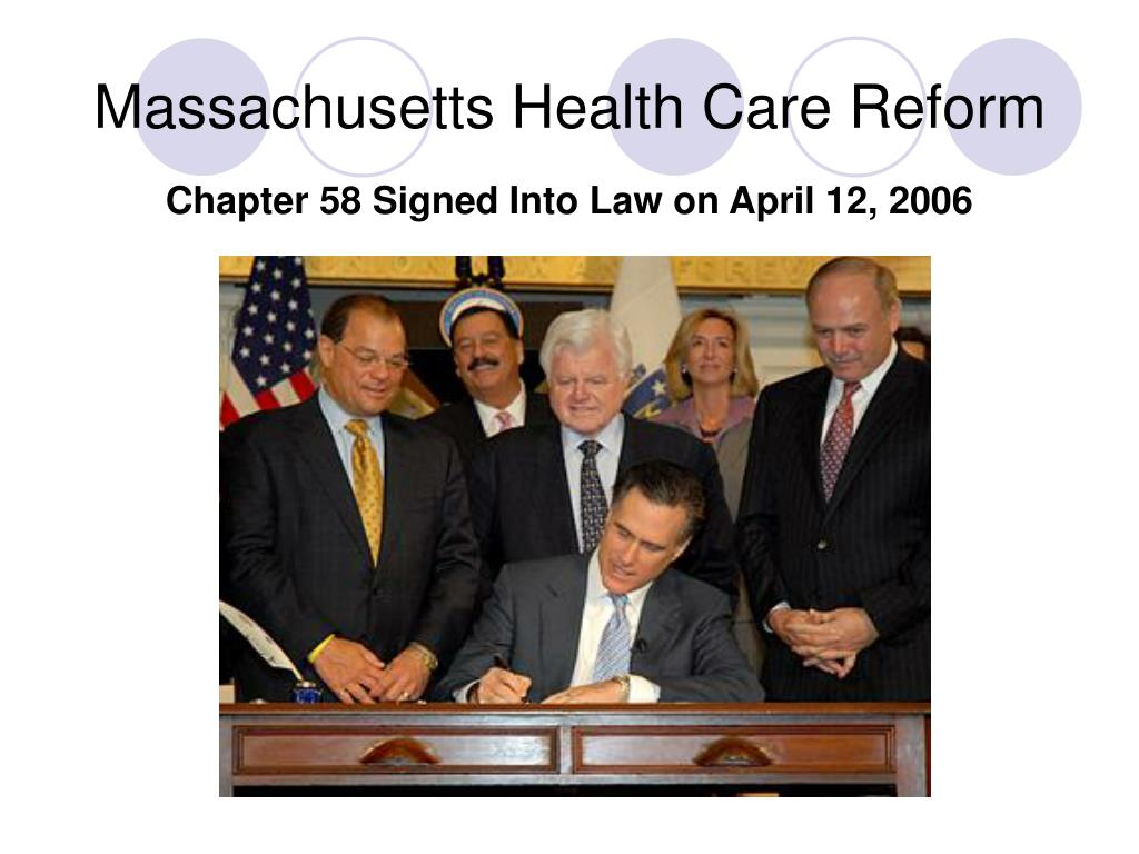 massachusetts health care reform l.